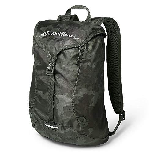 Eddie Bauer Unisex-Adult Stowaway Packable 20L Ruck Pack, Camo Regular ONE Size