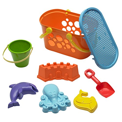 American Plastic Toys Beach Basket Set