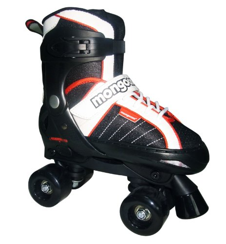 Mongoose Hockey Quad Adjustable Inline Skates