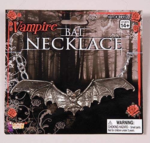Forum Novelties 59113 Gothic Bat Necklace