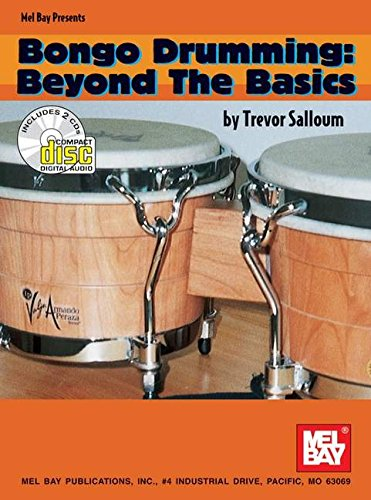 Mel Bay Bongo Drumming/Beyond the Basics Book/2 CD Set