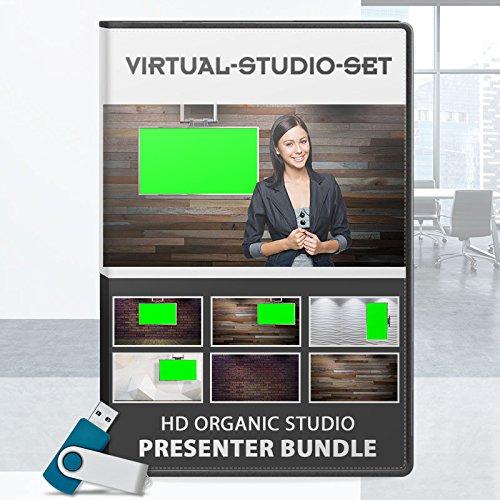 Organic / Natural HD Realistic Virtual Set for Green Screen Video Productions
