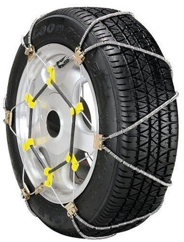 Security Chain Company SZ335 Shur Grip Super Z Passenger Car Tire Traction Chain - Set of 2