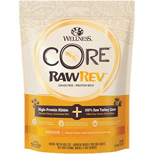 Wellness CORE Rawrev Indoor Deboned Chicken, Turkey Meal & Chicken Meal Recipe, 4.5 lb Bag