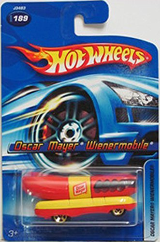 Hot Wheels Oscar Mayer Weinermobile 2006 1:64 Scale Collectible Die Cast Metal Toy Car Model #189