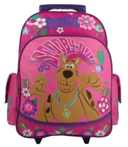 Scooby Doo Peace & Love Large 15' Rolling Backpack [Apparel]