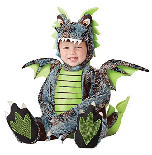 California Costumes Men's Darling Dragon Infant, Blue/Lime, 18-24