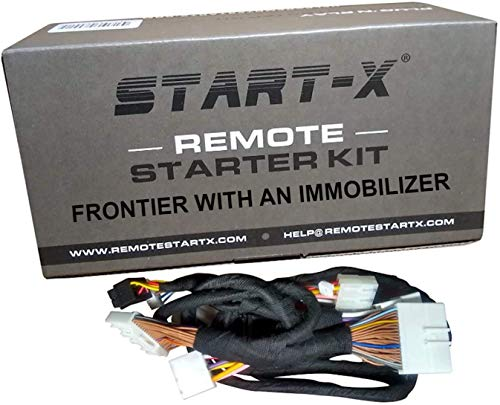Start-X Remote Starter for Frontier 2008-2019 || Plug N Play || 3X Lock Remote Start || 10 Minute Install (with Immobilizer)