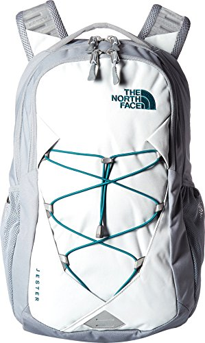 The North Face Women's Jester Backpack, Tin Grey/Mid Grey, One Size