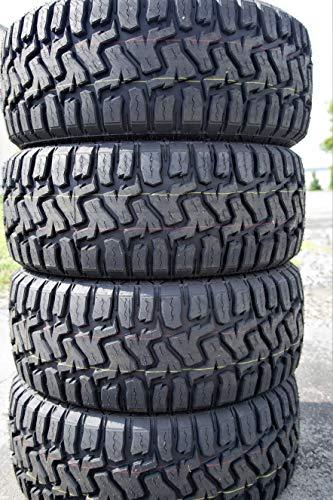 Set of 4 (FOUR) Haida HD878 R/T Rugged-Terrain Tires-33X12.50R20LT 114Q LRE 10-Ply