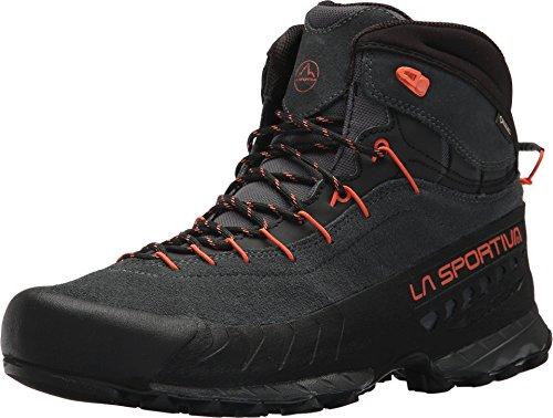 La Sportiva TX4 MID GTX Hiking Shoe - Men's, Carbon/Flame, 43