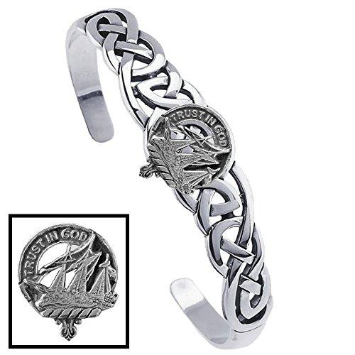 Harkness Clan Celtic Cuff Bracelet
