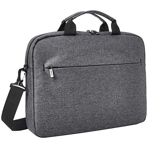 Amazon Basics Urban Laptop and Tablet Case, 15', Grey