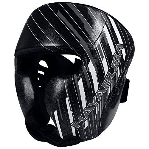 Hayabusa Ikusa Charged Headgear, Black/Grey, One Size