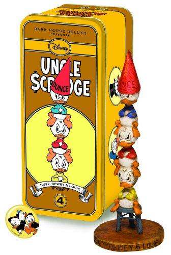 Dark Horse Deluxe Classic Uncle Scrooge Statue Series 2 #4: Huey, Dewey, and Louie
