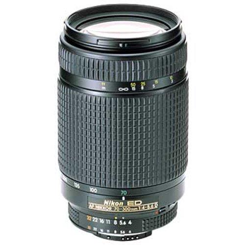 Nikon 70-300mm f/4-5.6D ED Auto Focus Nikkor SLR Camera Lens