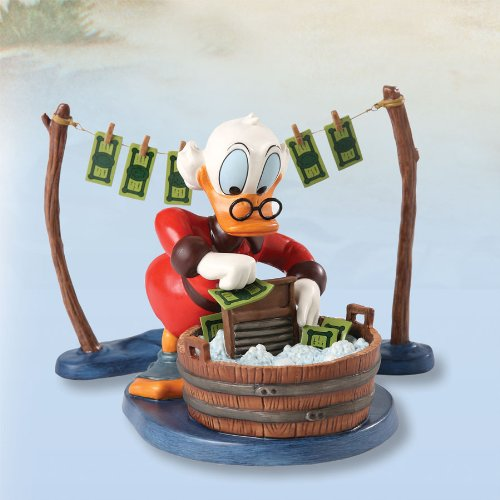 WDCC Uncle Scrooge Laundry Day Statue