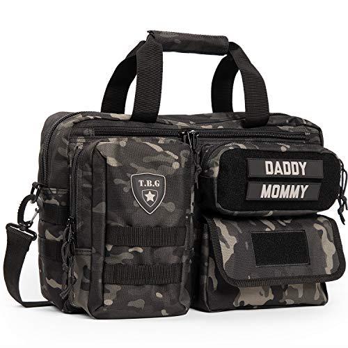Tactical Baby Gear Deuce 2.0 Tactical Diaper Bag (Black Camo)