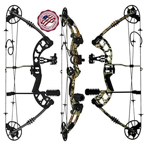 """RAPTOR Compound Hunting Bow Kit: 