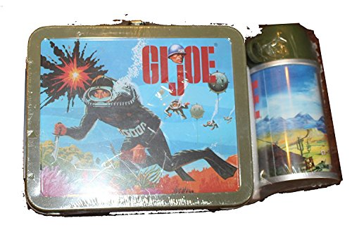 Hallmark Collectible Limited Edition mini Lunch Box and Thermos - GI Joe - Part of the School Days Collection