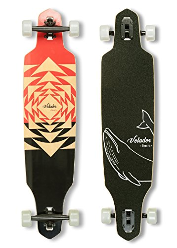 VOLADOR 40inch Maple Longboard - Basic Cruiser (Tunnel)