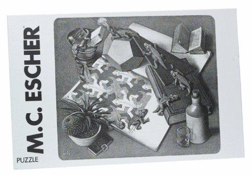 Reptiles - M.C. Escher 1000pc Jigsaw Puzzle