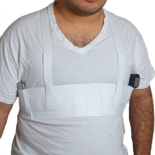 Active Pro Gear DeepConcealment Shoulder Holster for Concealed Carry | Concealed Carry Shoulder Holsters (Large (39-44'), Right)