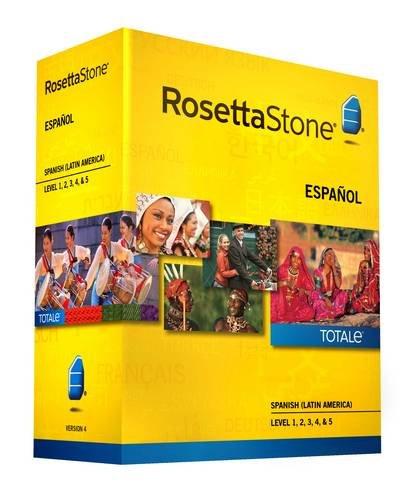 Rosetta Stone Version 4 TOTALe: Spanish (Latin America) Level 1, 2, 3, 4 & 5 (Mac/PC)