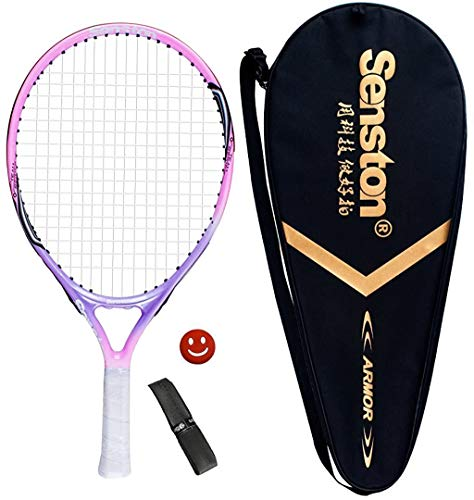 Senston 23' Youth Tennis Racket for Kids Children Boys Girls Tennis Racquets Pink Color