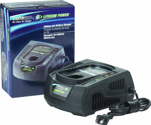 Earthwise CHL91302 18-Volt Lithium-Ion Battery Charger, Black