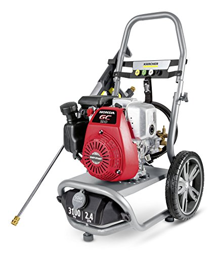 Karcher G3100XH Gas Pressure Washer Powered by Honda, 3100 PSI, 2.4 GPM