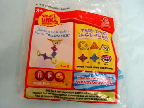 Wendy's Kids Meal Smart Links Scooter Build Your Own Creations