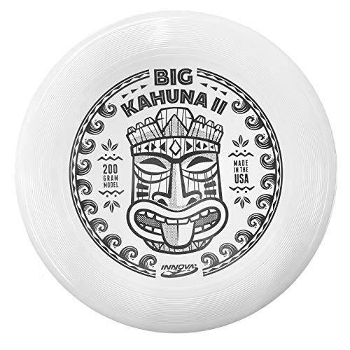 Innova Big Kahuna II Beach Frisbee 200g – Designed to Handle High Winds, Beaded Rim for Extra Grip (Stamp Color Will Vary)