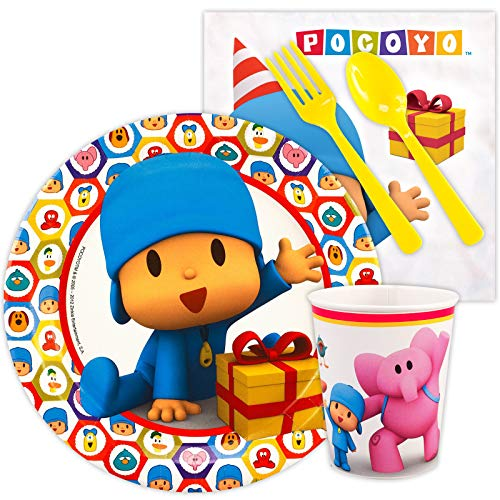 BirthdayExpress Pocoyo Party Supplies - Snack Party Pack