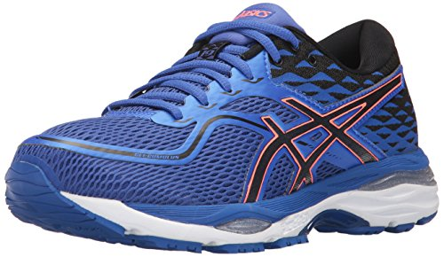 ASICS Women's Gel-Cumulus 19 Running Shoe, Blue Purple/Black/Flash Coral, 7 Medium US