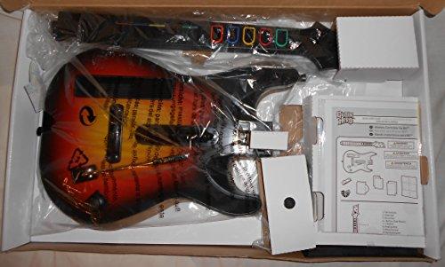 Nintendo Wii Red Octane Guitar Hero World Tour Controller Sunburst 95455.805