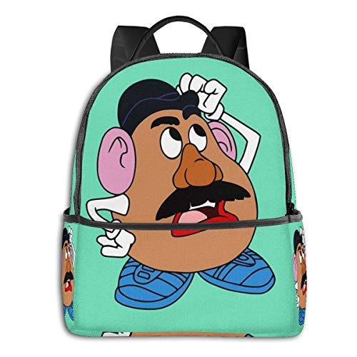 Mr Potato Head Student School Bag School Cycling Leisure Travel Camping Outdoor Backpack