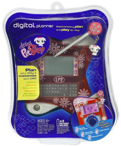 Hasbro Littlest Pet Shop Digital Electronic Interactive Organizer Pink