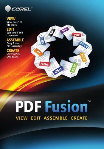 Corel PDF Fusion Document Management Suite [PC Download]
