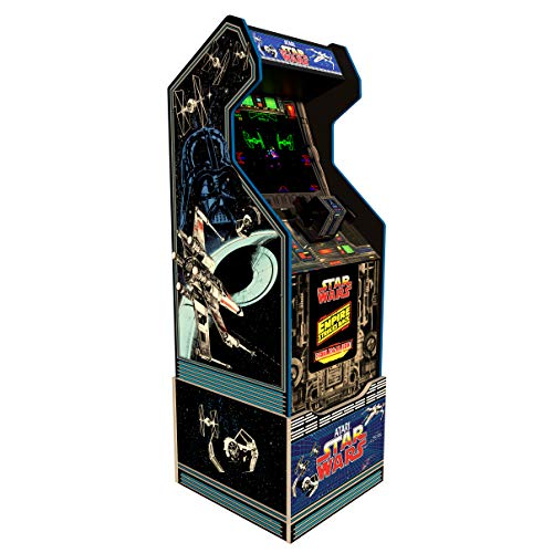Arcade1Up Arcade1Up Star Wars Home Arcade Machine, 3 Games in 1, 4 Foot Cabinet with 1 Foot Riser - Electronic Games;