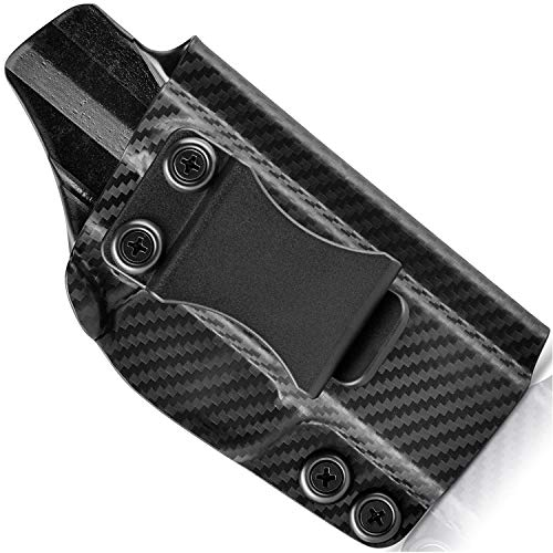 Concealment Express IWB KYDEX Holster fits Glock G43/43X | Right | Carbon Fiber Black