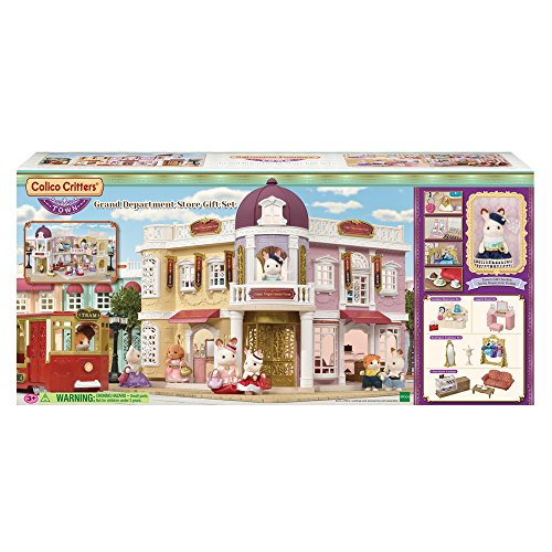 Calico Critters CC3011 Grand Department Store Gift Set
