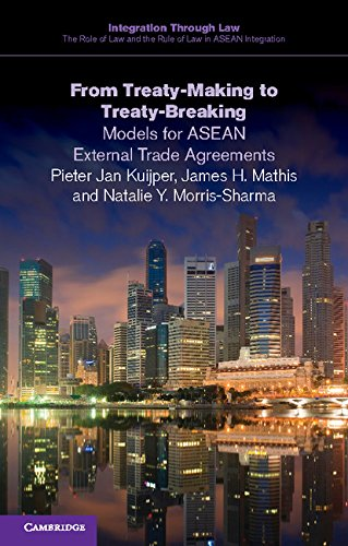 From Treaty-Making to Treaty-Breaking: Models for ASEAN External Trade Agreements (Integration through Law:The Role of Law and the Rule of Law in ASEAN Integration Book 6)