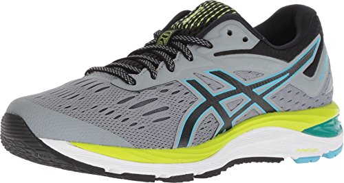 ASICS Women's Gel-Cumulus 20 Running Shoes, 8M, Stone Grey/Black