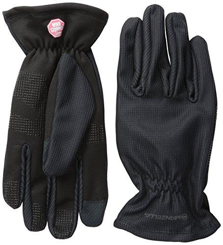 Manzella Men's Silkweight Windstopper Ultra Touch Gloves, Large, Black