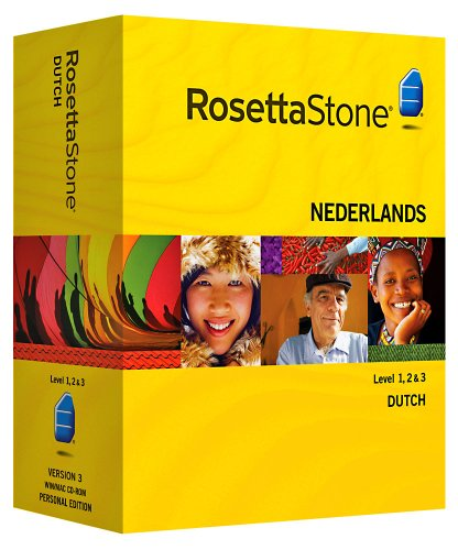 Rosetta Stone V3: Dutch Level 1-3 Set with Audio Companion [OLD VERSION]