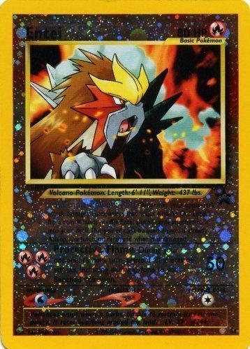 Pokemon Card - Black Star Promo #34 - Entei (Holo-foil)