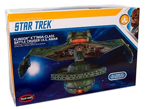 Polar Lights Star Trek Klingon K't'inga 1:350 Scale Model Kit
