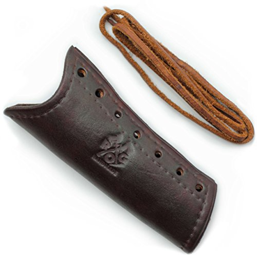 Review Outdoor Gear Leather Axe Handle Guard (Gransfors Bruk Small Forest Axe, Brown)