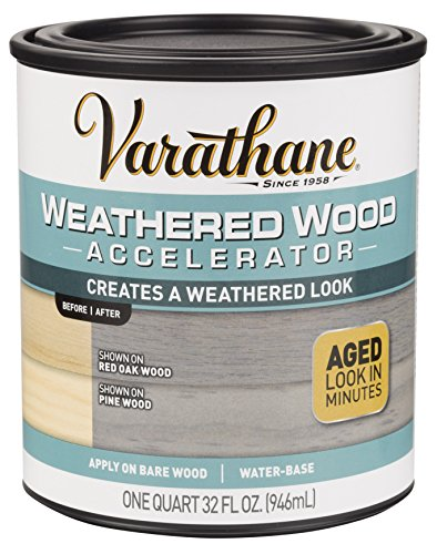 Rust-Oleum 313835 Varathane Weathered Wood Accelerator, Grey